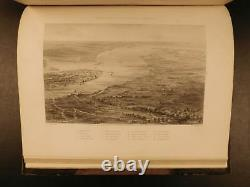 1862 1ed War with the South CIVIL WAR Military Tomes Illustrated Gettysburg MAP