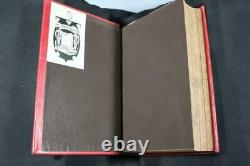 1865 History of the Civil War in the United States Lincoln Illustrated Leather