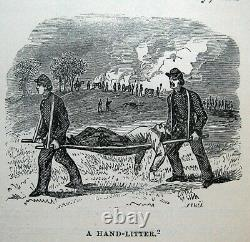 1866 CIVIL War Pictorial Field Book Union Confederate Military Army Navy Us Csa