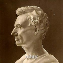 1890 Rare Abraham Lincoln Civil War hALOGRAM 3D Realistic Stereoview Picture