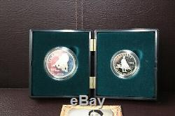 1995 Civil War Coin Set in Original Government Packaging