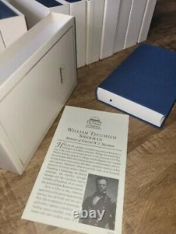 40 Library of America Books The Civil War, Mark Twain. With Slipcases Like New