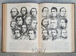 Antique Book Harpers Pictorial History Of The Civil War 1866 Part 1