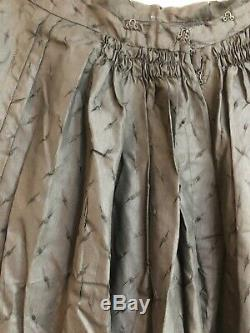 Antique Bustle Skirt Civil War Victorian Era Black as is parts archives display