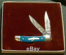 Boker Bone Stag Knives (5) Civil War Limited Edition Sets WithPackaging, Rare Set