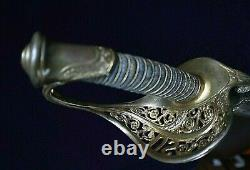 CIVIL War Ames M 1850 Staff& Field Officer Sword Dated Inspected 1851 One Of 72