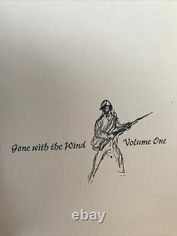 Easton Press Collectors Edition-Gone With The Wind Volumes I/2