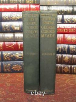 General George Gordon Meade Life And Letters CIVIL War 1913 First Edition