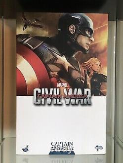 HOT TOYS MMS 350 CAPTAIN AMERICA (Civil War) 16 Scale Collectable Figure