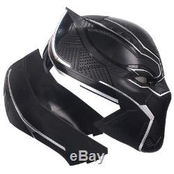 Killerbody Original Marvel Civil War 1/1 Black Panther Cosplay Prop Helmet 09999