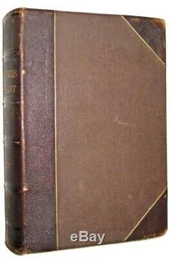 LEATHERMEMOIRS of ULYSSES GRANT! (FIRST EDITION 1879!)Civil War Personal TRAVEL