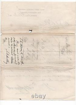 Medal of Honor Recipient Civil War William Sewell RailRoad Letter Signed