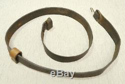 Militaria Original U. S. Civil War Leather Musket Sling with Keeper-41 inches long