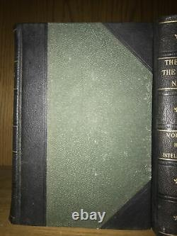 Old Leather Books! 1909 The South In Building The Nation Civil War Not Complete