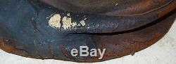 Original CIVIL War Leather Pouch Saddle Bag Marked Us Named Geo Zeller New York