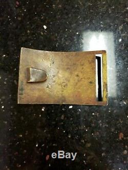 Original Civil War, Model 1851 NCO Sword Belt Plate Buckle with Family History
