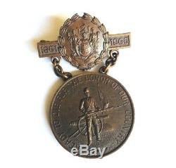 Original New Jersey Civil War Service Medal Order US