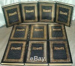 PHOTOGRAPHIC HISTORY OF THE CIVIL WAR Easton Press 10 Volume Set As New 1995