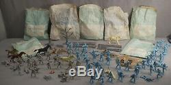 Rare Original 1961 Marx Giant Battle Of Blue And Gray CIVIL War Playset In Box
