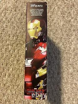 S. H. Figuarts Marvel Civil War Iron Man Mark 46 Authentic First Release