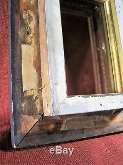 Shadow Box In Frame Antique 1800`s Ornate Leaf & Vine Gesso Memorial Civil War