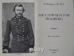 The Vicksburg Campaign By Ed Bearss Brand New Complete Set CIVIL War