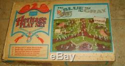 Vintage Marx Sears Heritage Blue and the Gray Civil War PlaySet in Original Box